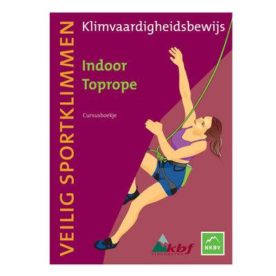 Cursusboekje Indoor Toprope