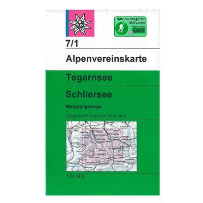 AV 07/1 Tegernsee/Schliersee MangfallMangfallgebirge