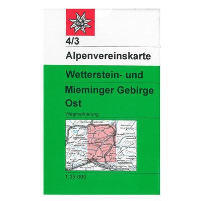 AV 04/3 Wetterstein- und Mieminger Gebirge, Ost