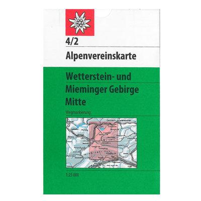 AV 04/2 Wetterstein- und Mieminger Gebirge, Mitte