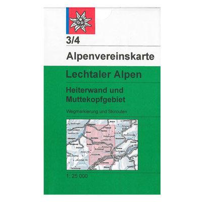AV 03/4 Lechtaler Alpen, Heiterwand und Muttekopfgebiet