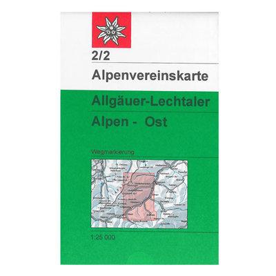 AV 02/2 Allgäuer- Lechtaler Alpen, Ost