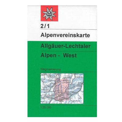 AV 02/1 Allgäuer- Lechtaler Alpen, West