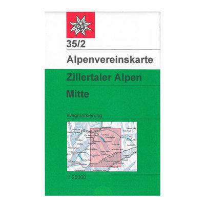 AV 35/2 Zillertaler Alpen, Mitte