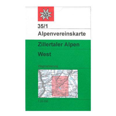 AV 35/1 Zillertaler Alpen, West