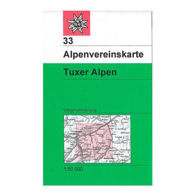 AV 33 Tuxer Alpen