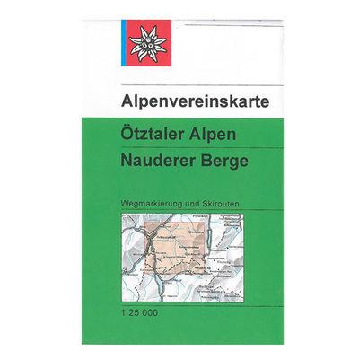 AV 30/4 Ötztaler Alpen, Nauderer Berge