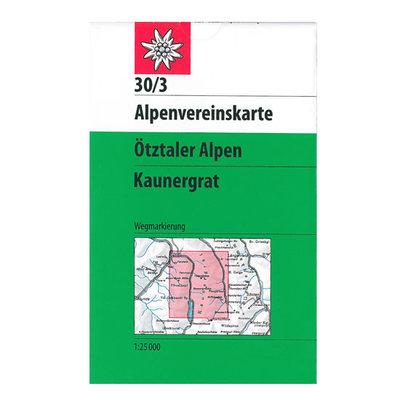 AV 30/3 Ötztaler Alpen, Kaunergrat