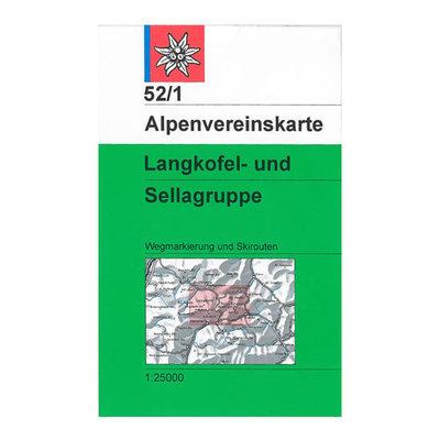 AV 52/1 Langkofel- und Sellagruppe