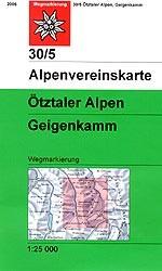 AV 30/5 Ötztaler Alpen, Geigenkamm