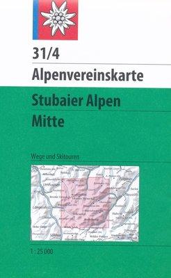 AV 31/4 Stubaier alpen, Mitte