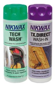 Nikwax Duopack Tech Wash & Nikwax TX.Direct Wash-In